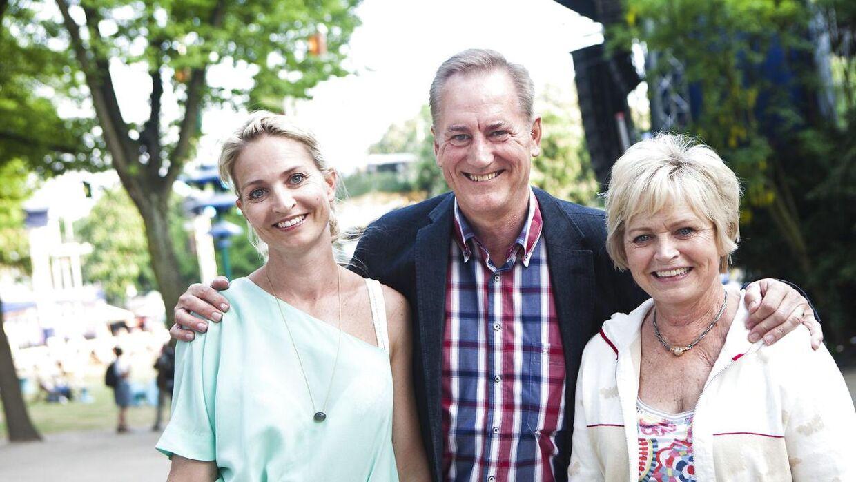 Keld, Hilda og Anette Heick.
