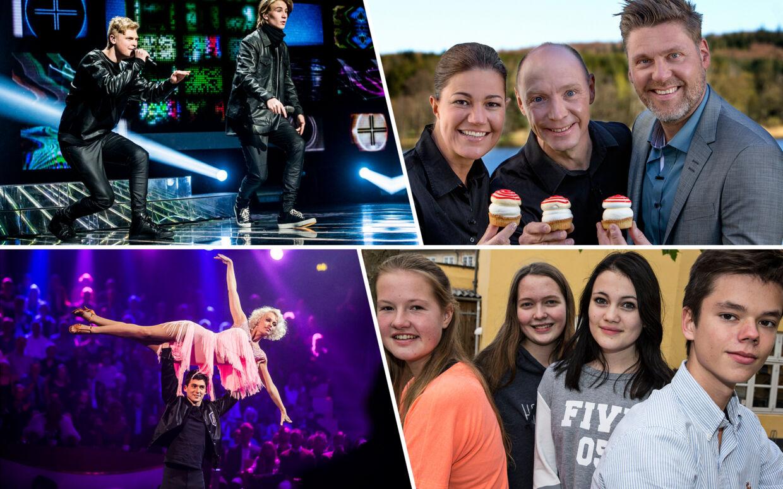X Factor, Den store bagedyst, Vild med dans og Årgang 0 er blot nogle af de tv-programmer, der har samlet danskerne i 2015.