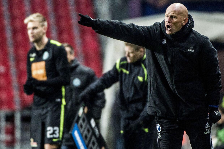 FCK-træner Ståle Solbakken afslørede direkte på norsk tv et snarligt salg af Daniel Amartey