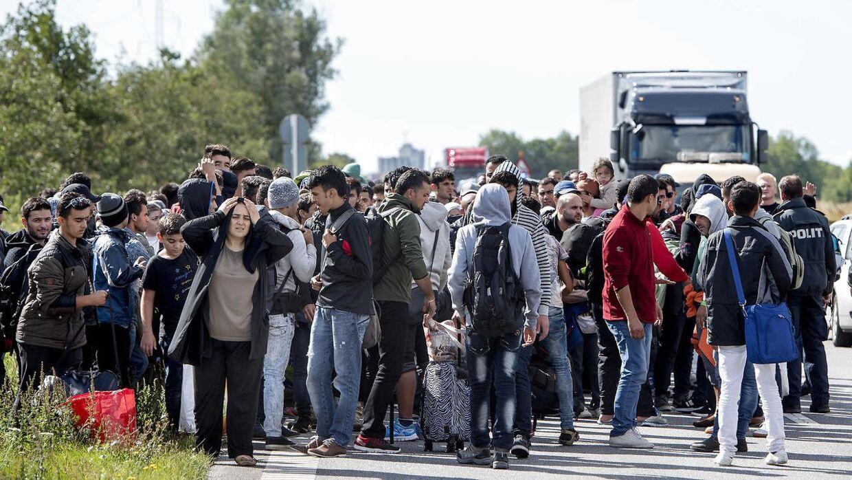Regeringen vil tage penge og værdier fra flygtninge. Arkivfoto.