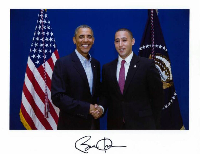 Svante Myrick bliver sammenlignet med den amerikanske præsident Barack Obama. Det er han smigret over, selvom han selv ser sig som en »Joe Biden«-type