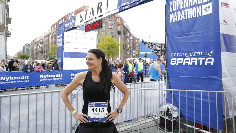 Annette Fredskov løber i dag sit maraton nummer 600. For bare en uge siden løb hun sit forrige marathon, Gåsetårn Marathon i Vordingborg.