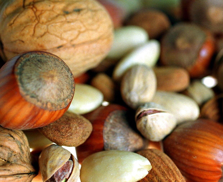 Ny forskning viser, at børn med risiko for at udvikle nøddeallergi, faktisk kan undgå sygdommen, hvis de jævnligt spiser nødder som helt små. (Arkivfoto)