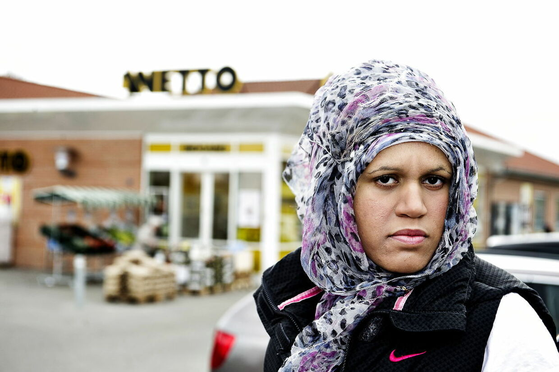 Nada Fraija fik nej til ansættelse i Netto på grund af hendes tørklæde