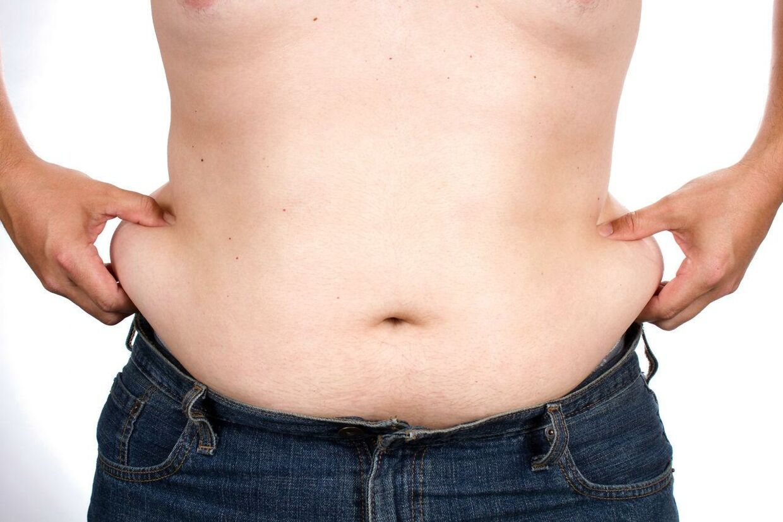 »Det er sundt at have noget fedt på kroppen, og det er sundt at have evnen til at kunne deponere fedt på kroppen, og det gælder sådan set både mænd og kvinder. Det er helt klart et sundhedstegn, hvis man kan lade være med at have six-pack,« lyder de vise ord fra ernæringsekspert Per Brændgaard.