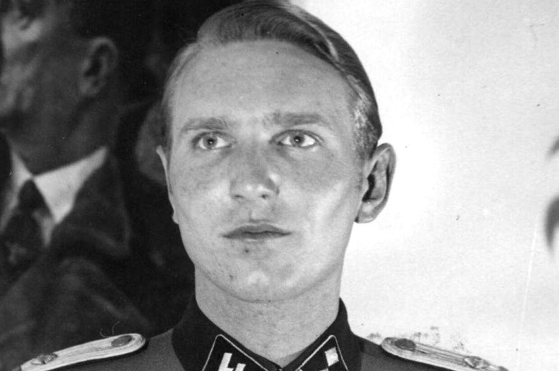Nazist Søren Kam, dansk statsborger. Udateret arkivbillede fra 1940-45.