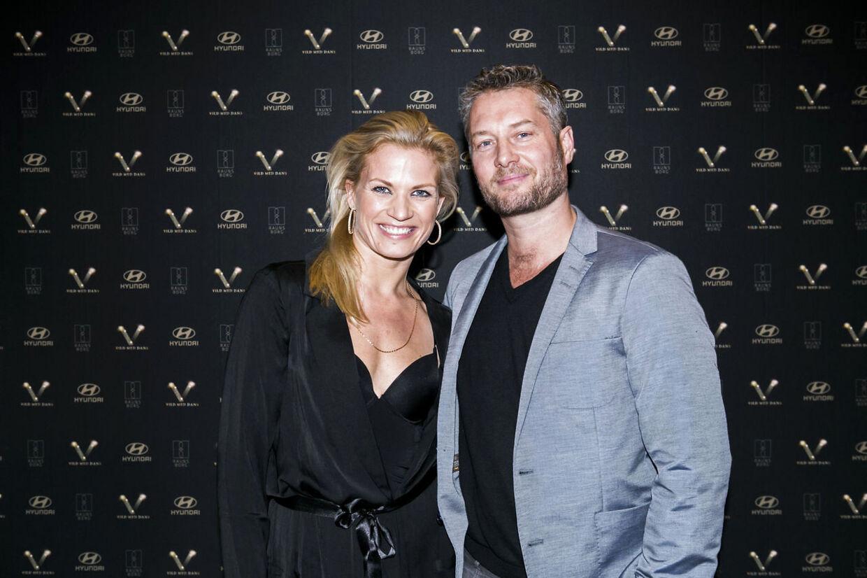 Her ses Mie Moltke med sin mand og tidligere dansepartner Lai Yde.
