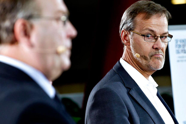 Ole Sohn og finansminister Claus Hjort Frederiksen.
