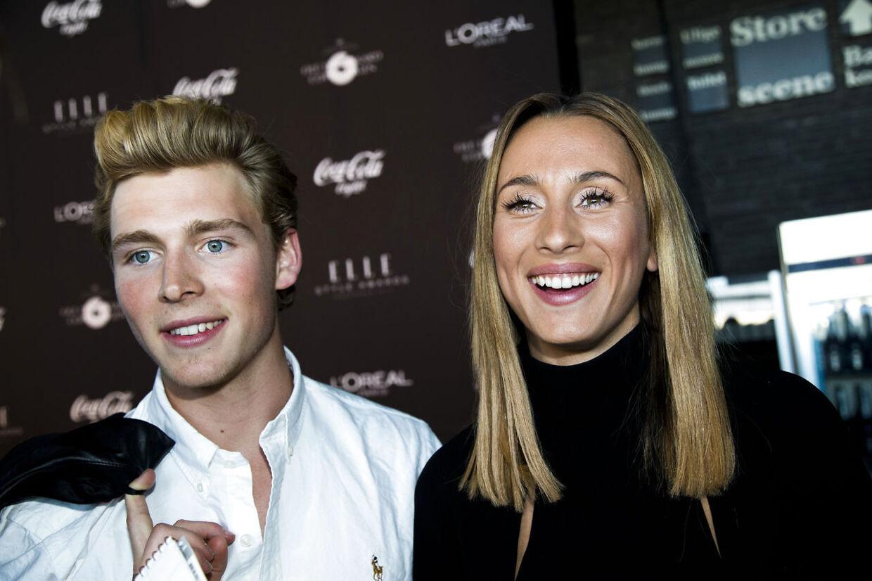 Her ses Medina og Christopher til Elle Style Awards i Skuespilhuset i København i maj 2013.