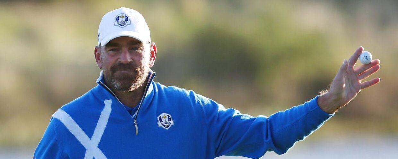 Thomas Bjørn gjorde et flot comeback på golfbanerne i 2014