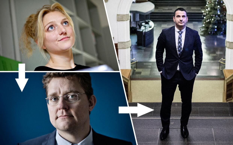 Først tog Zenia Stampe barselsorlov. Så besluttede hendes vikar Rasmus Helveg Petersen at droppe politik. Den næste på listen var Emrah Tuncer.