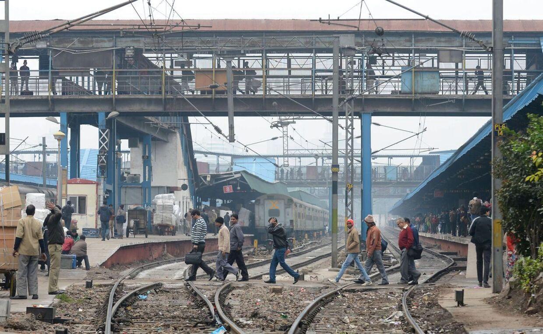 En dansk kvinde blev bortført nær togstationen i New Delhi og efterfølgende voldtaget af flere mænd. Arkivfoto.