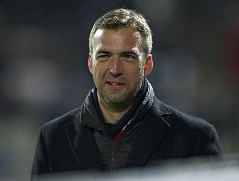 Superliga Fodbold Sønderjyske - FC Midtjylland Allan Kuhn træner FCM