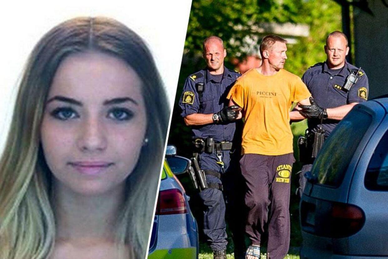Nerijus Bilevicius blev anholdt for mordet på Lisa Holm i nærheden af Blomberg ved Lidköping.