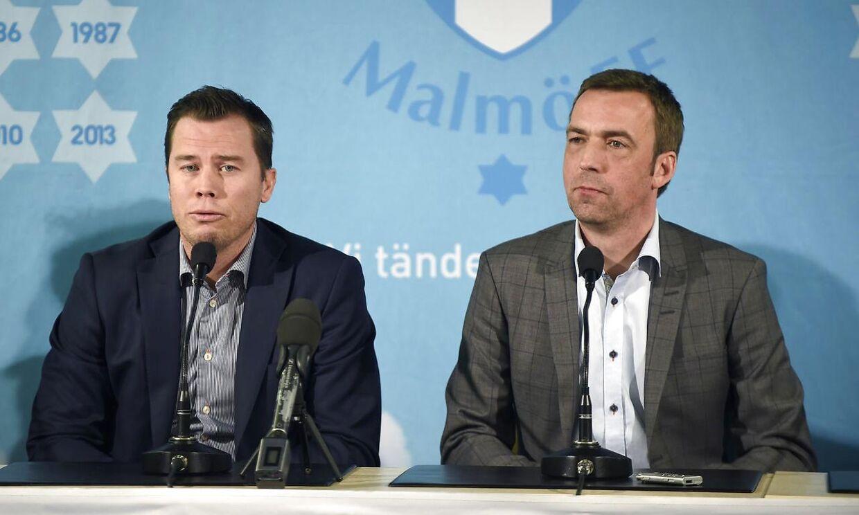 Allan Kuhn blev fredag eftermiddag præsenteret som ny cheftræner for Malmö FF.