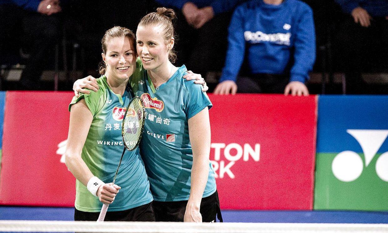 Kamilla Rytter Juhl og Christinna Pedersen fik prisen som 'Årets Spiller' i badminton.