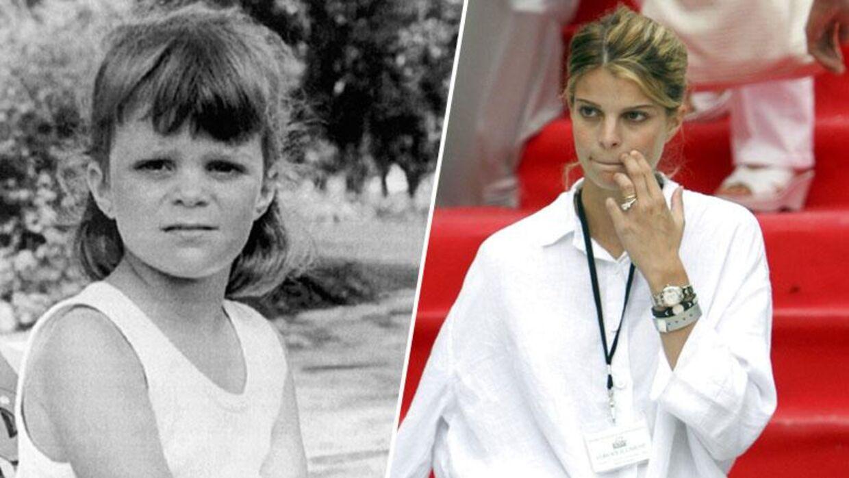 Athina Onassis blev som barn (tv) unævnt til verens rigeste pige. Nu er hun blevet voksen ( th).