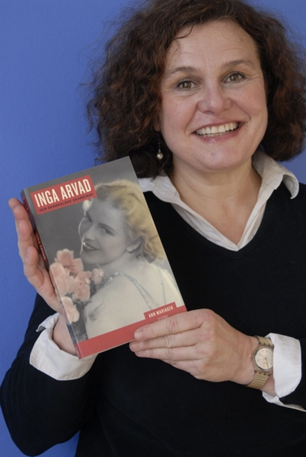 Ann Mariager har haft adgang til Inga Arvads private optegnelser.