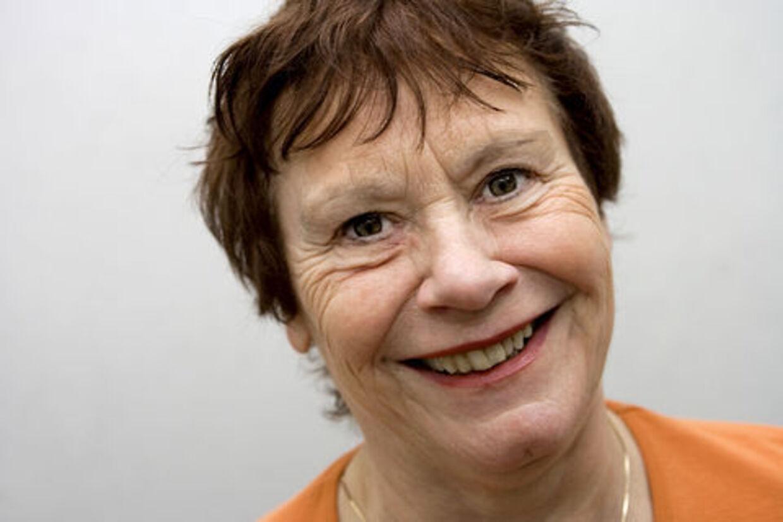 Irma Henriksen som 71-årig stadig glad for sex.