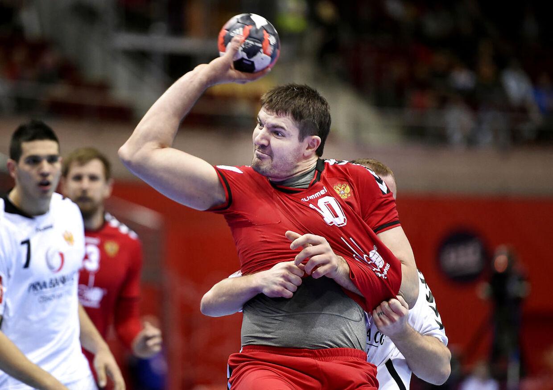 Rusland-Montenegro. Ruslands Aleksandr Chernoivanov
