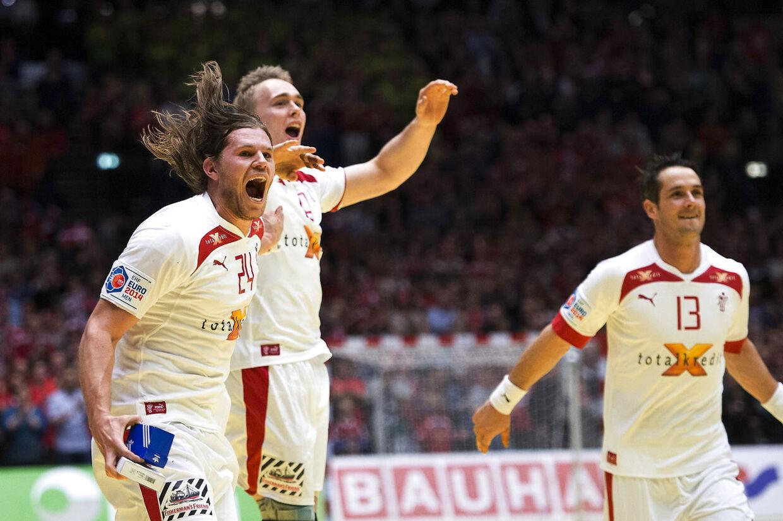 Der var ingen over eller ved siden af Mikkel Hansen i Danmarks sejr tirsdag aften mod Østrig i Herning.