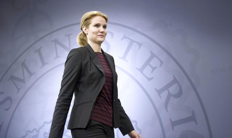 ARKIVFOTO 2012 af statsminister Helle Thorning-Schmidt.