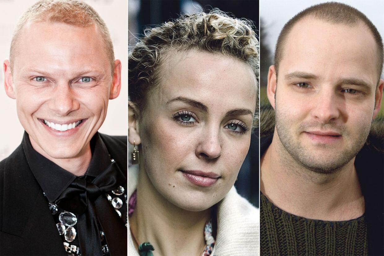 Fra venstre: Jim Lyngvild, Julie Ølgaard og Lars Rasmussen.