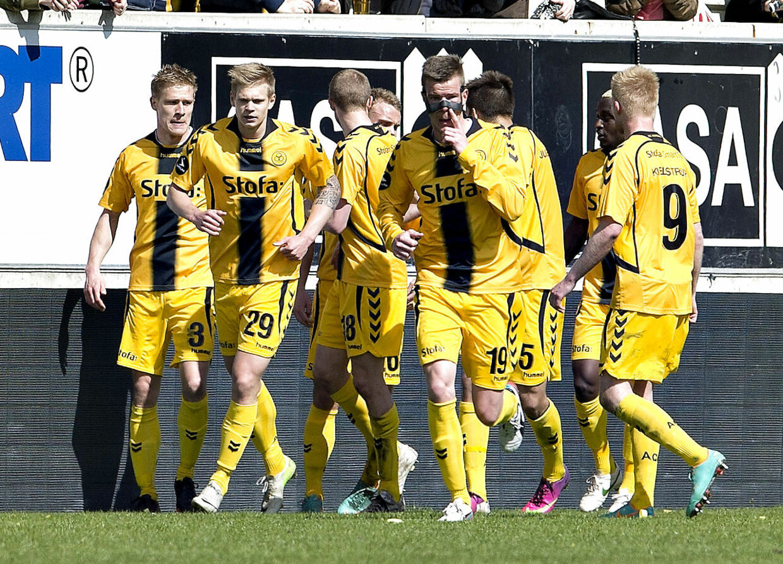 AC Horsens har økonomiske problemer efter nedrykningen fra Superligaen i fjor.