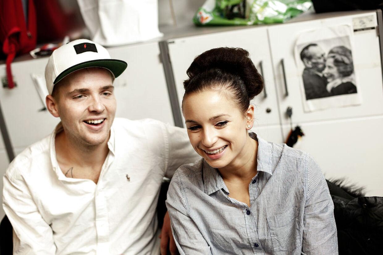 Vild med dans 2012 finalens vindere Joakim Ingvarsen og Claudia Rex chatter med BTs læsere