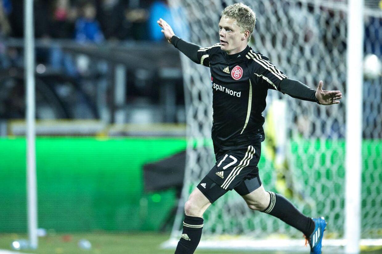 Kasper Kusk efter sin scoring til 4-2