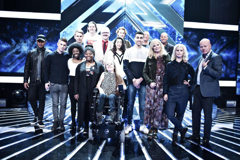 X Factor pressemøde fotograferet i DR Byen onsdag den 17. februar 2016.