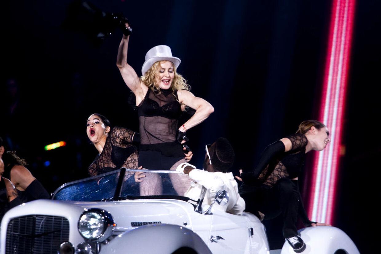 Madonna spillede tirsdag aften i Parken.