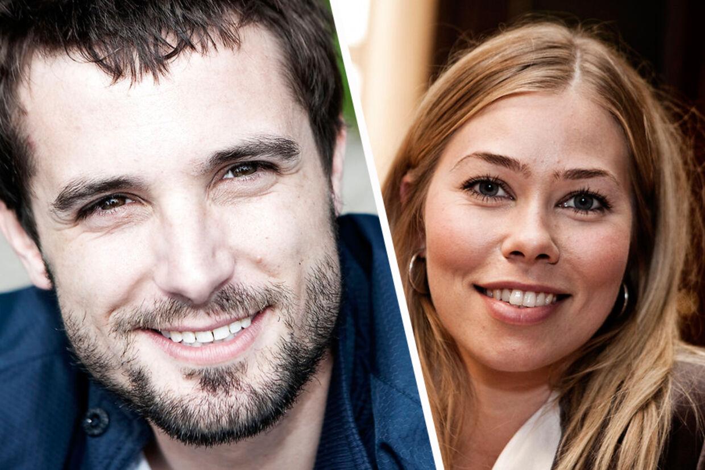 Christian Tafdrup og Birgitte Hjort Sørensen var kærester. Det er de ikke længere, men nu de kan opleves som tætte kolleger i tredje sæson af tv-serien Borgen.