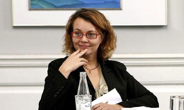 Ulla Østergaard, tidligere pressechef for Lars Løkke og i dag redaktør på TV 2 News. Arkivfoto