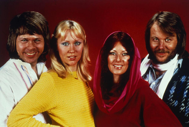 Benny Andersson, Agnetha Fältskog, Anni-Frid Lyngstad, Björn Ulvæus fra ABBA.