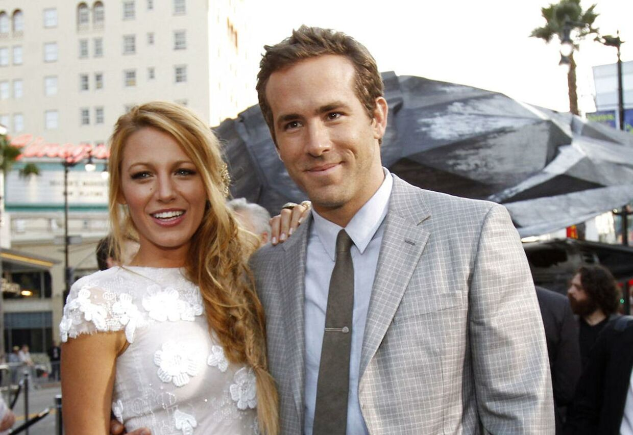 Ryan Reynolds og Blake Lively