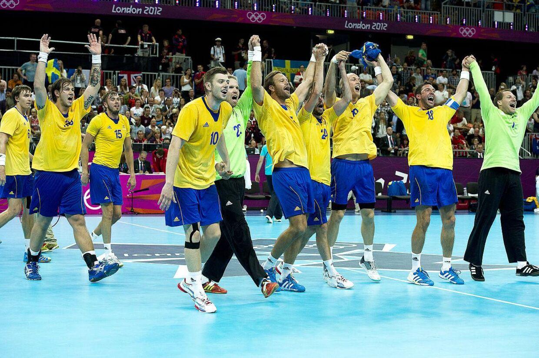OL i London. OL2012. Håndbold kvart finale. Danmark - Sverige 288fdb02cb1ca