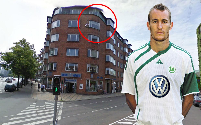 Her på fjerdesalen på Julius Thomsens Gadehar Thomas Kahlenberg købt ny lejlighed.