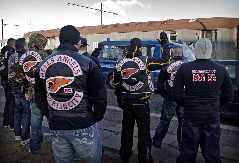 Brian Sandbergs skifte fra Hells Angels til Bandidos kan være gnisten, der starter en ny rockerkrig, mener ekspert. (Arkivfoto)