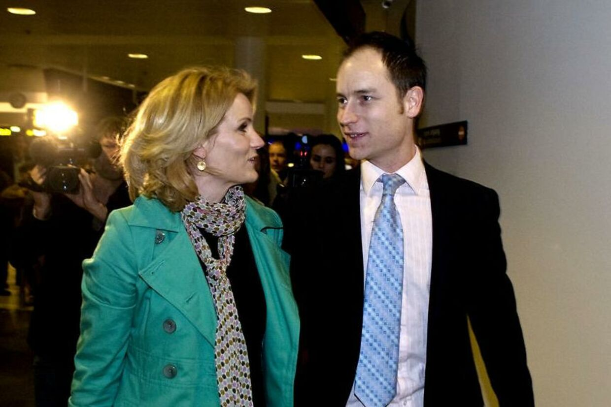 Helle Thorning og Stephen Kinnock.