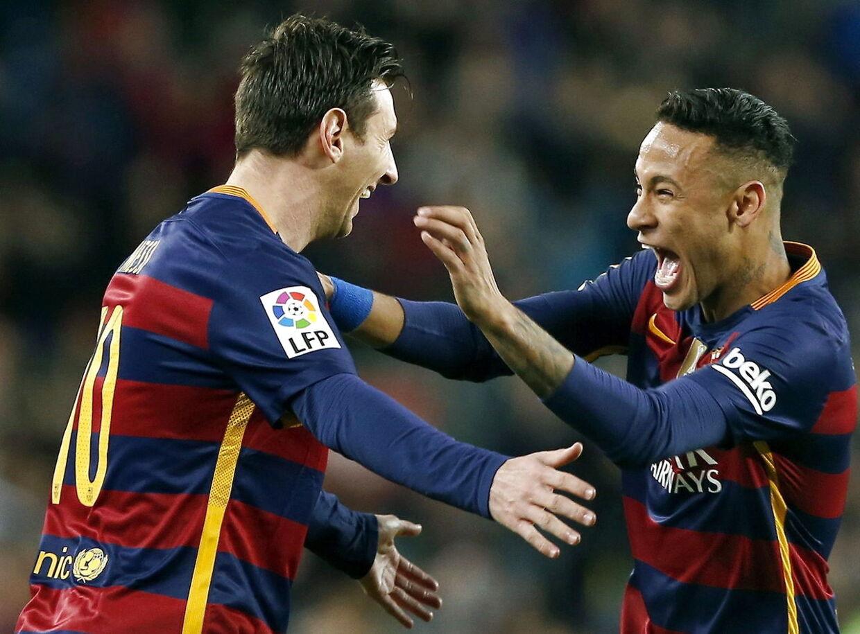 Lionel Messi og Neymar skulle egentlig have lavet straffesparks-finten sammen ...