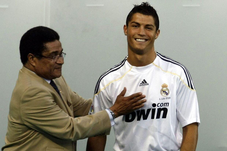 I 2009 var Eusebio taget til Madrid for at være med under præsentationen af Cristiano Ronaldo i Real-trøjen.