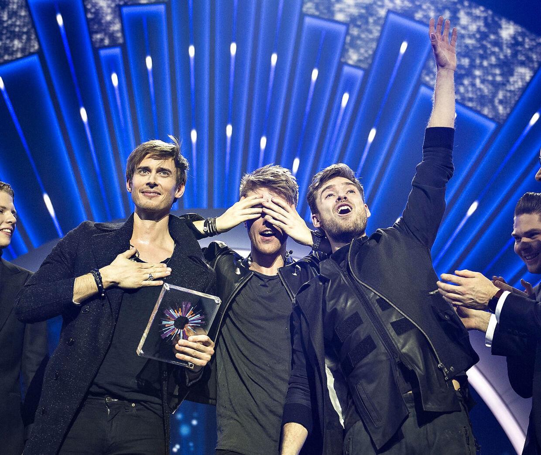 Vinderne af det danske Melodi Grand Prix 2016, Lighthouse X, beskyldes for plagiat.