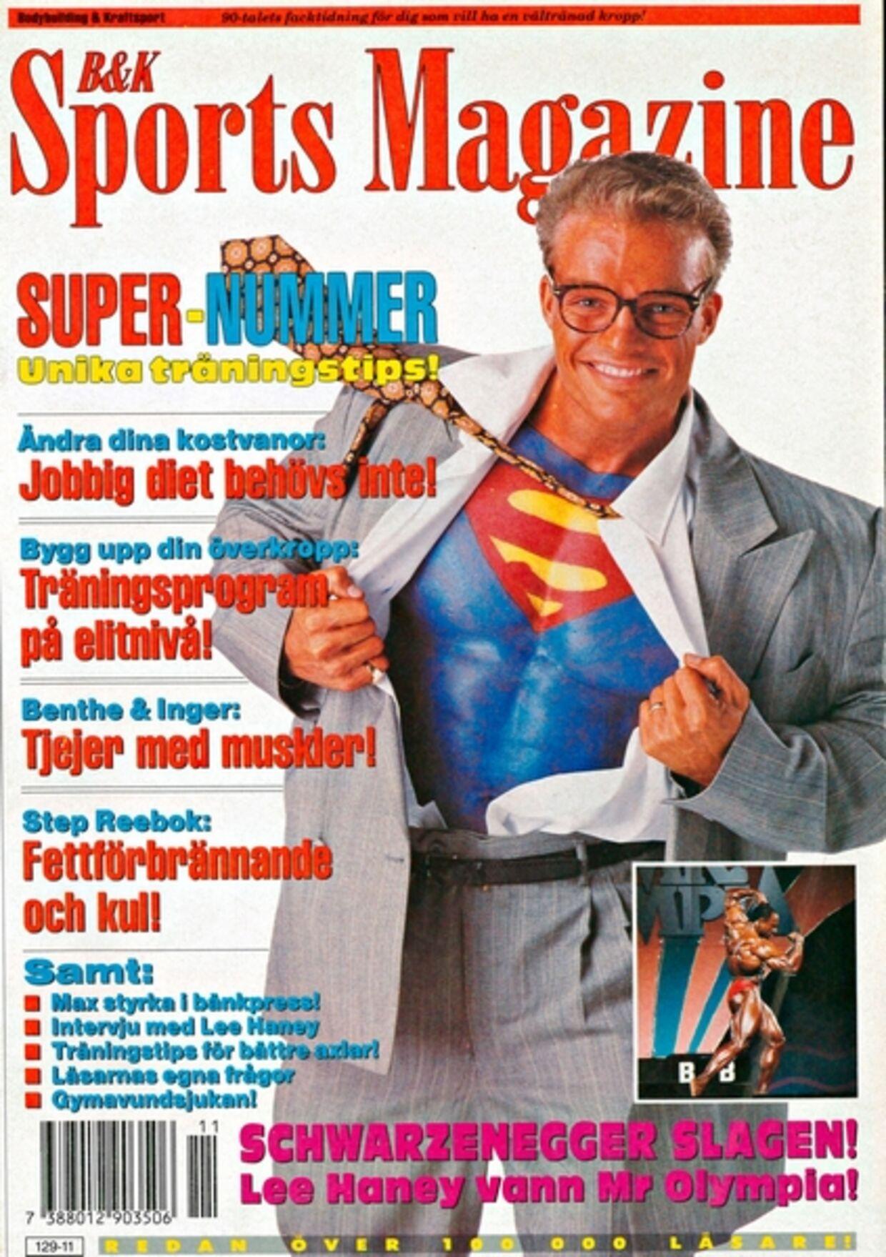 Sådan så Stein Bagger ud i starten af hans karriere.