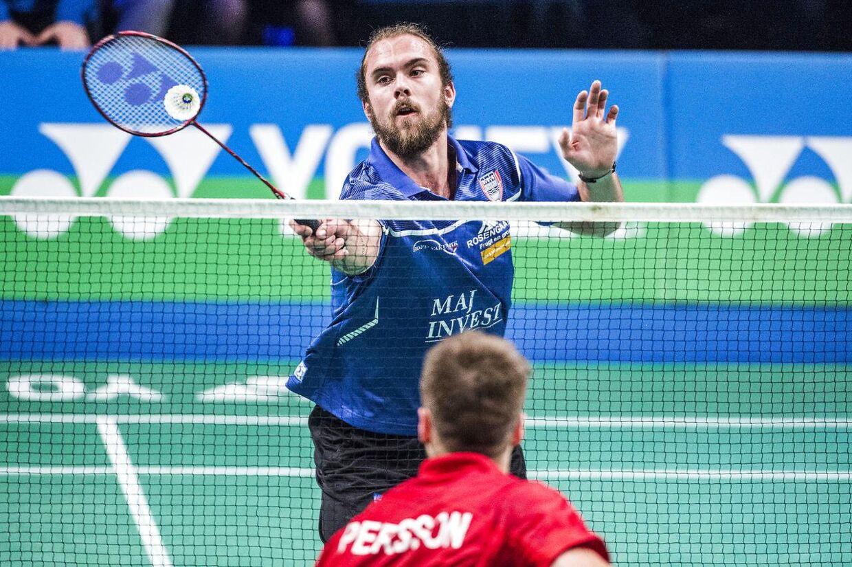 Jan Ø. Jørgensen stiller op ved næste weekends badminton-DM i Aarhus.