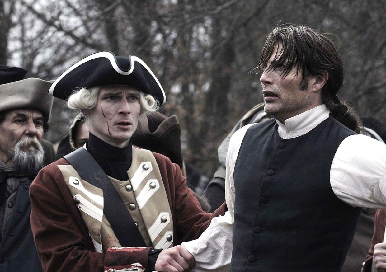 ARKIVFOTO fra filmen En kongelig affære, her ses Mads Mikkelsen som Struensee.