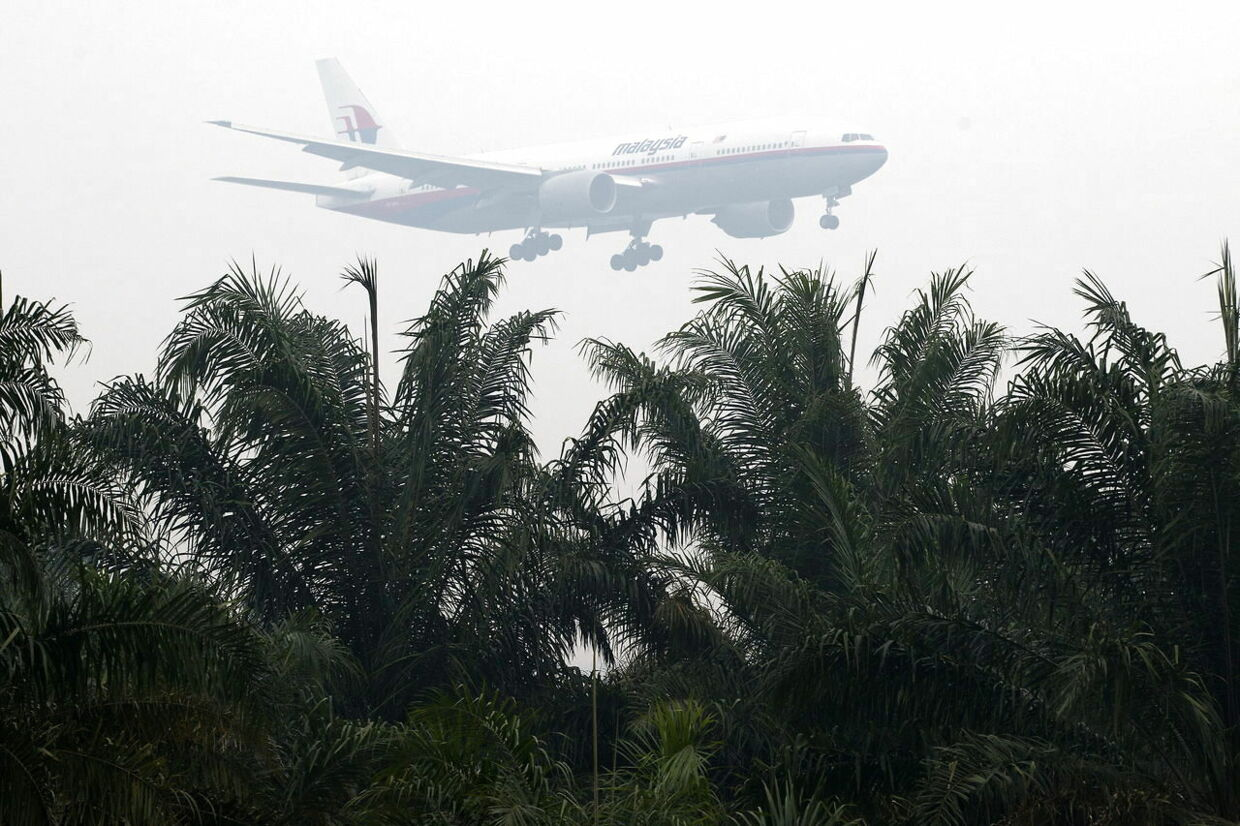 Her ses et passagerfly fra Malaysian Airlines (genrefoto)