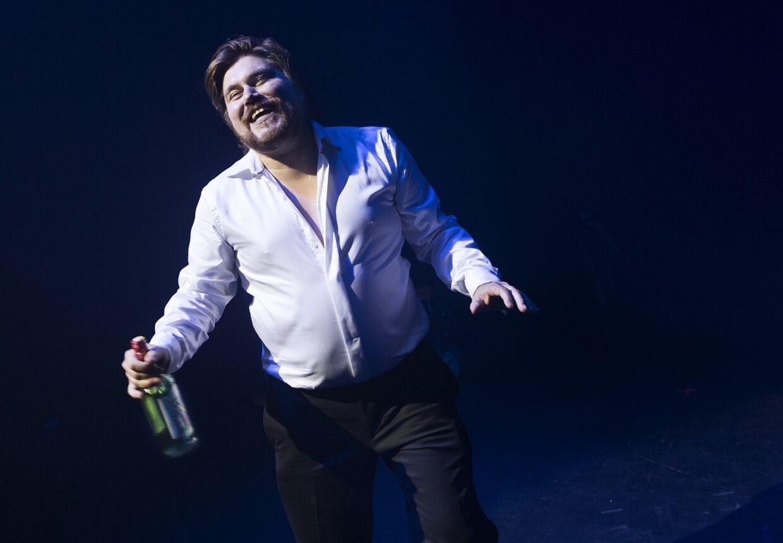 Rasmus Bjerg i sit soloshow