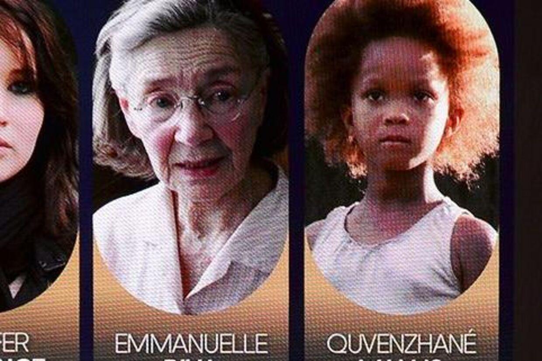 85-årige Emanuelle Riva og ni-årige Quvenzhane Wallis er hhv den ældste og den yngste skuespillerinde indstillet til en Oscar.