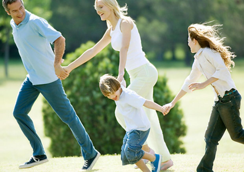 Gør løb til en leg. Så er det lettere at få hele familien med ud og motionere.